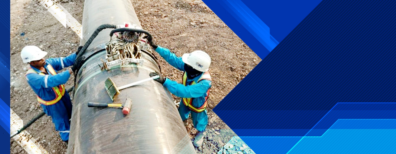 Pipeline Ultrasonic Testing (Automatic UT : AUT)