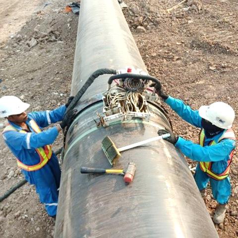 Pipeline Ultrasonic Testing
